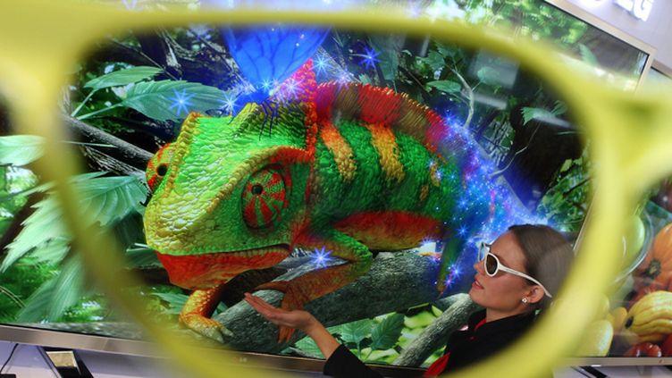 (Les écrans 3D sont déconseillés aux enfants et peuvent provoquer des symptômes inquiétants. © Maxppp)