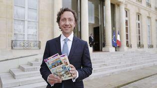 """A quelques jours du lancement du loto du patrimoine, Stéphane Bern a """"tiré la sonnette d'alarme"""". (LUDOVIC MARIN / AFP)"""