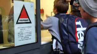 Une école de Menton (Alpes-Maritimes), le 16 novembre 2015. (MAXPPP)