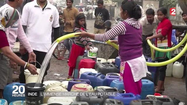 L'Inde face au défi titanesque de la distribution d'eau potable
