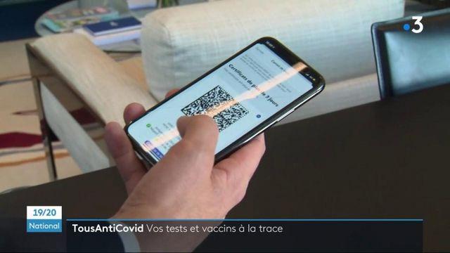 Covid-19 : l'application TousAntiCovid permet désormais d'importer un test négatif ou une attestation vaccinale