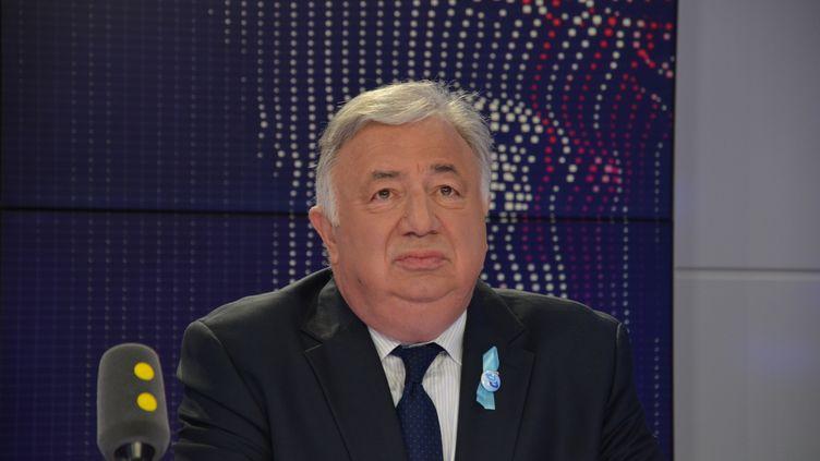 Gérard Larcher, président du Sénat. (JEAN-CHRISTOPHE BOURDILLAT / RADIO FRANCE)