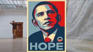 Obama signé Shepard Fairey (France Télévisions)