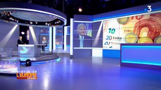 Avenue de l'Europe.L'euro est-il la cause de tous les maux de l'UE ? La réponse de Jean-Claude Trichet, ex-président de la BCE (FRANCE 3)