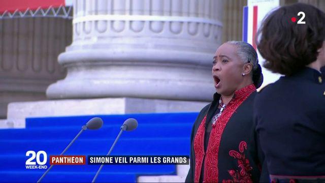 Panthéon : Simone Veil parmi les grands