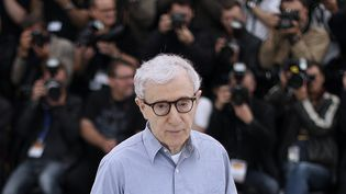 Woody Alleb au 69e Festival de Cannes, en mai 2016 (VALERY HACHE / AFP)