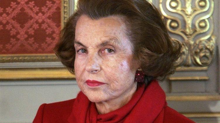 Liliane Bettencourt, le 25 avril 2005 (AFP - PATRICK KOVARIK)