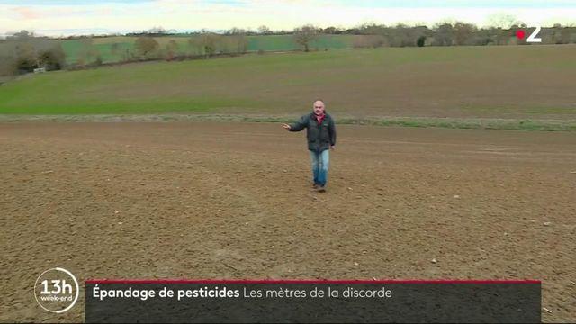 Épandage de pesticides : les mètres de la discorde