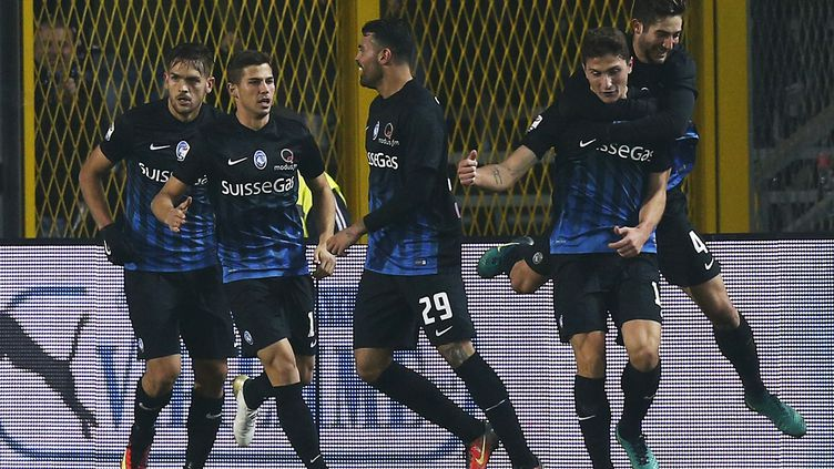 Atalanta surprend l'AS Roma (MARCO BERTORELLO / AFP)