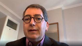 Jean Rottner, invité du 8h30 franceinfo, dimanche 28 février 2021. (CAPTURE ECRAN / FRANCEINFO)