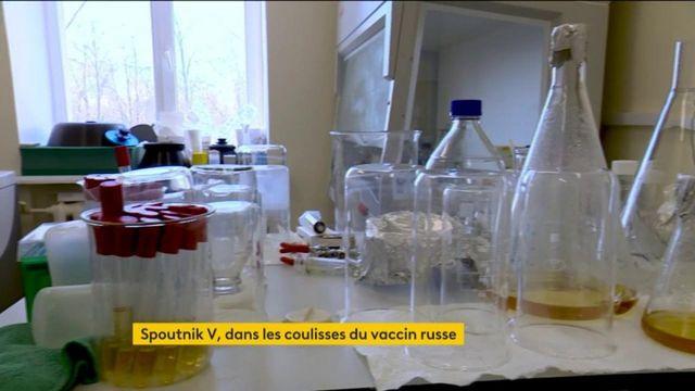 Spoutnik V : reportage dans le laboratoire de fabrication du vaccin russe