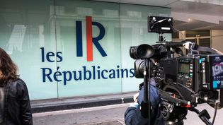Le siège des Républicains à Paris, le 24 octobre 2017. (MAXPPP)