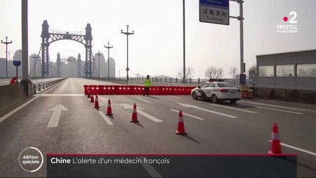 Coronavirus :l'alerte d'un médecin français en Chine