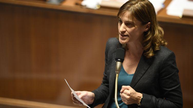 Lasecrétaire d'Etat à l'Aide aux victimes, Juliette Méadel, à l'Assemblée nationale à Paris, le 9 novembre 2016. (ERIC FEFERBERG / AFP)