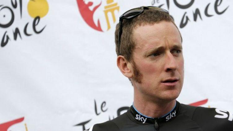 Bradley Wiggins (Sky) sur le Tour de France 2012