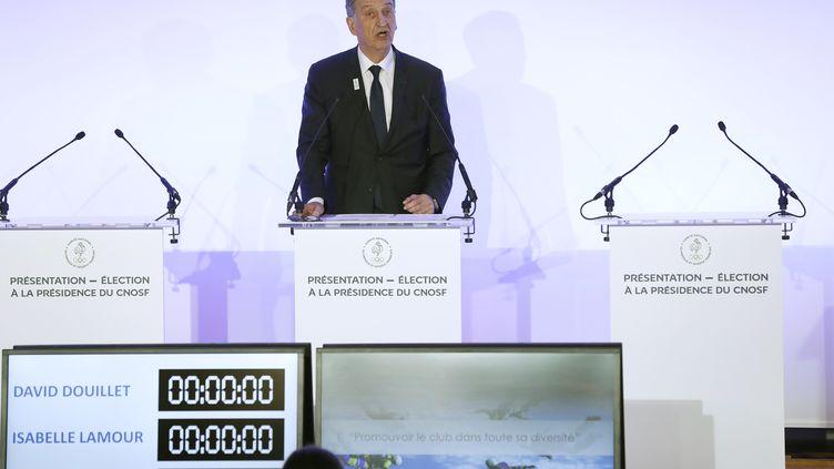 Le président du CNOSF Denis Masseglia (PATRICK KOVARIK / AFP)