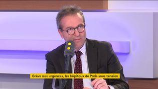 Martin Hirsch, directeur général de l'Assistance publique-Hôpitaux de Paris, le 18 avril 2019 sur franceinfo (photo d'illustration). (FRANCEINFO / RADIOFRANCE)