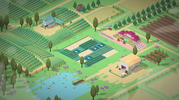 Hundred days, simulation de viticulture, présenté le 13 mai 2021 sur Youtube par Stadia. (FRANCEINFO)