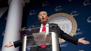 Donald Trump lors d'un meeting à Washington (Etats-Unis), le 3 décembre 2015. (SAUL LOEB / AFP)