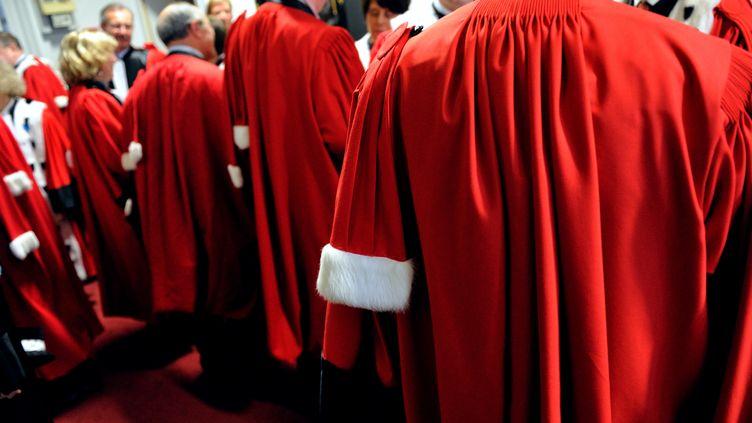 Des magistrats à la cour d'appel de Douai (Nord), le 10 janvier 2013. (DENIS CHARLET / AFP)