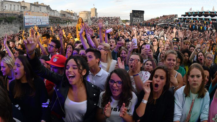 La 33e édition des Francofolies a enregistré une fréquentation stable avec près de 90 000 spectateurs payants sur cinq jours  (XAVIER LEOTY / XL / AFP)