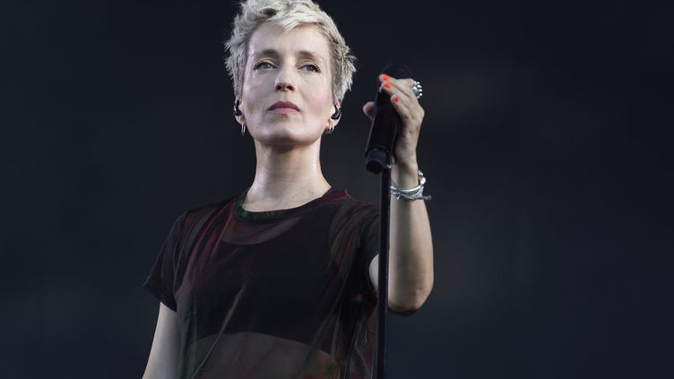 Jeanne Added le 23 août 2019 à Saint-Cloud, aux portes de Paris, lors du festival Rock en Seine (SADAKA EDMOND / SIPA)