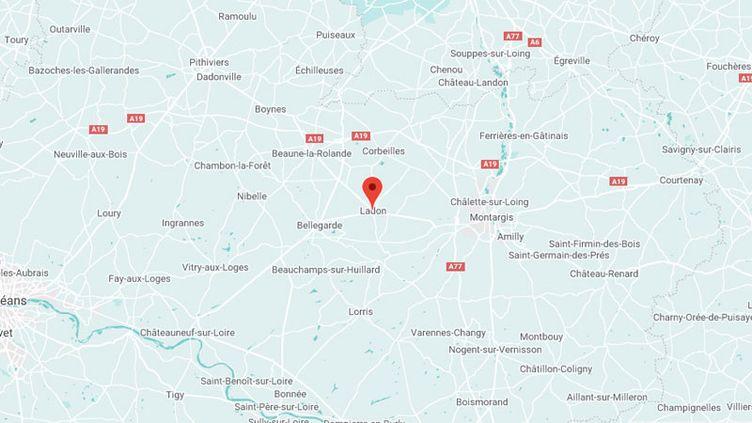 Ladon, dans le Loiret. (GOOGLE MAPS)