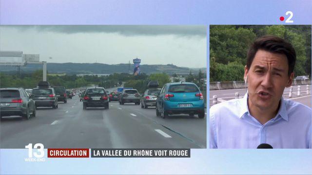 Circulation : la vallée du Rhône voit rouge