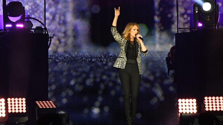 Céline Dion en concert à Bordeaux, au stade Matmut Atlantique (29 juin 2017)