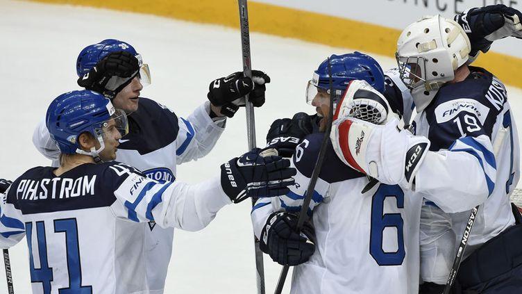 Les Finlandais, premiers qualifiés pour la finale du Mondial de hockey