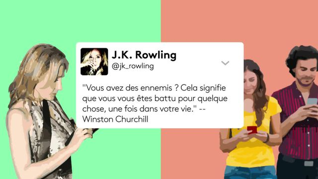 J.K. Rowling, reine du clash