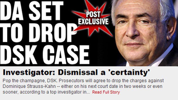 Capture du site du New York Post (DR)