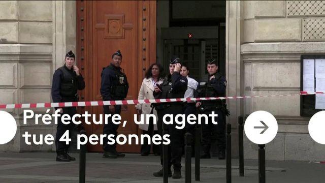 Préfecture de police : un fonctionnaire tue quatre agents
