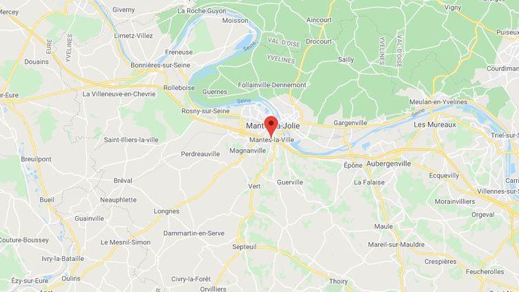 Mantes-la-Ville (Yvelines). (GOOGLE MAPS)