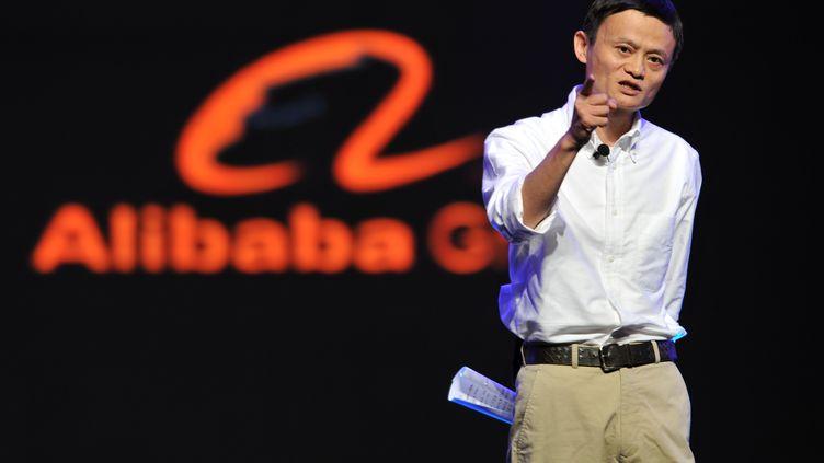 Jack Ma, le 9 septembre 2012 àHangzhou(Chine). (HUANG ZONGZHI / XINHUA / AFP)