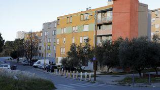 La cité du Petit Séminaire, où un homme d'une vingtaine d'années a été assassiné à la kalachnikov fin février 2021. (DAVID ROSSI / MAXPPP)