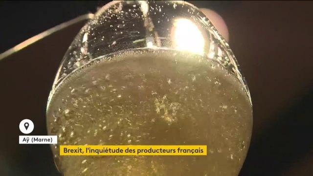 Brexit : la vive inquiétude des producteurs de champagne français