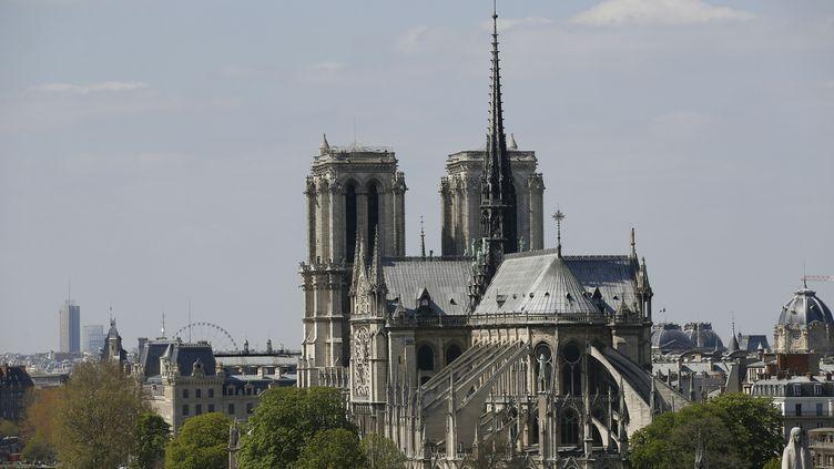 La cathédrale Notre Dame à Paris le 19 avril 2016. (PATRICK KOVARIK / AFP)