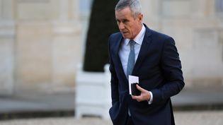 Le procureur de la République de Paris, François Molins est aujourd'hui la figure de l'antiterrorisme en France. Son mandat à la tête du parquet de Paris arrive à échéance en novembre prochain. (LUDOVIC MARIN / AFP)