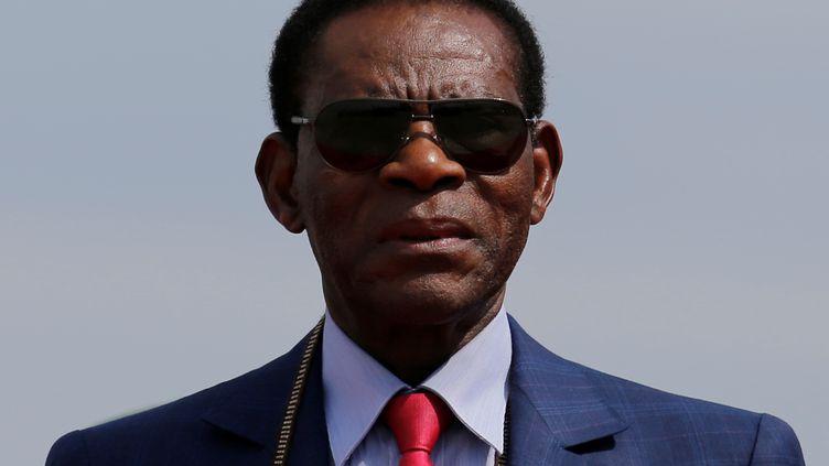 Le président de Guinée équatoriale,Teodoro Obiang Nguema Mbasogo, au pouvoir depuis 40 ans, est le plus ancien chef d'Etat en exercice. Photo prise le 22 novembre 2017. (REUTERS - DAVID MERCADO / X00959)