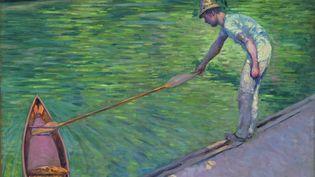 Gustave Caillebotte. Canotier ramenant sa périssoire, 1878. Huile sur toile ; 73 x 93 cm. Richmond, Virginia Museum of Fine Arts. (VIRGINIA MUSEUM OF FINE ARTS / PHOTO KATHERINE WETZEL)