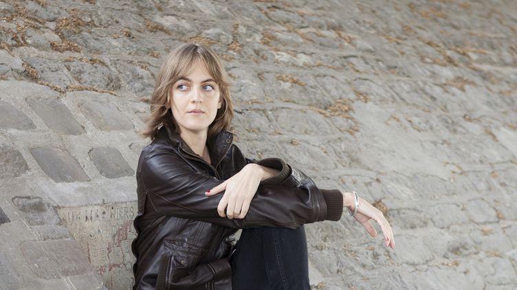 La romancière Emmanuelle Richard  (Patrice Normand)