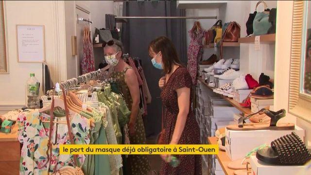 Le port du masque dans les lieux publics déjà obligatoire par endroits