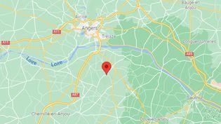 Le suspect exerçaità Vauchrétien (Maine-et-Loire) jusqu'en 2017. (GOOGLE MAPS)
