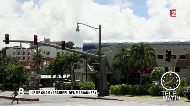 Ile de Guam : la menace nord-coréenne prise au sérieux