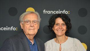 Bernard et Cécile Pivot (RADIO FRANCE / JEAN-CHRISTOPHE BOURDILLAT)