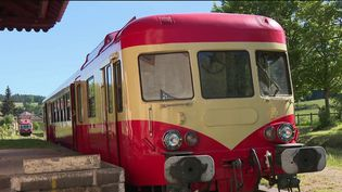 La découverte du 12/13 vous emmène à bord du train du Haut-Foret, un train touristique des années 1950 qui permet de traverser lentement les forêts de la Loire. (France 3)