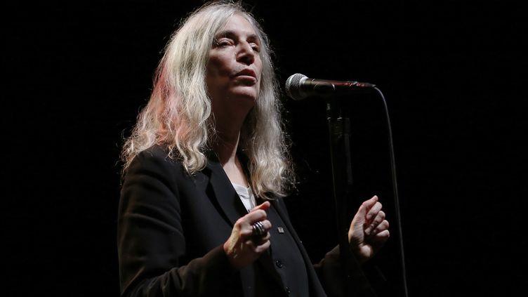 Patti Smith à l'Olympia  (Patrick Kovarik / AFP)