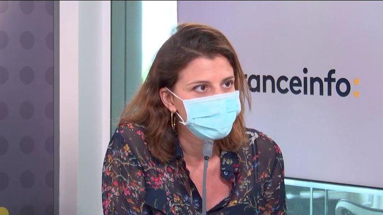 Julia Bijaoui, cofondatrice deFrichti, invitée éco de franceinfo le 25 mai 2021. (FRANCEINFO / RADIO FRANCE)