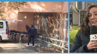 L'aide-soignant de la maison de retraite d'Arcueil (Val-de-Marne), accusé de maltraitance sur une pensionnaire de 98 ans, est jugé vendredi 15 février à Créteil. (FRANCE 3)